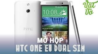 Vật Vờ - Mở hộp & đánh giá nhanh HTC One E8 dual sim: giá 6.5tr, 2 sim, Android 5.0