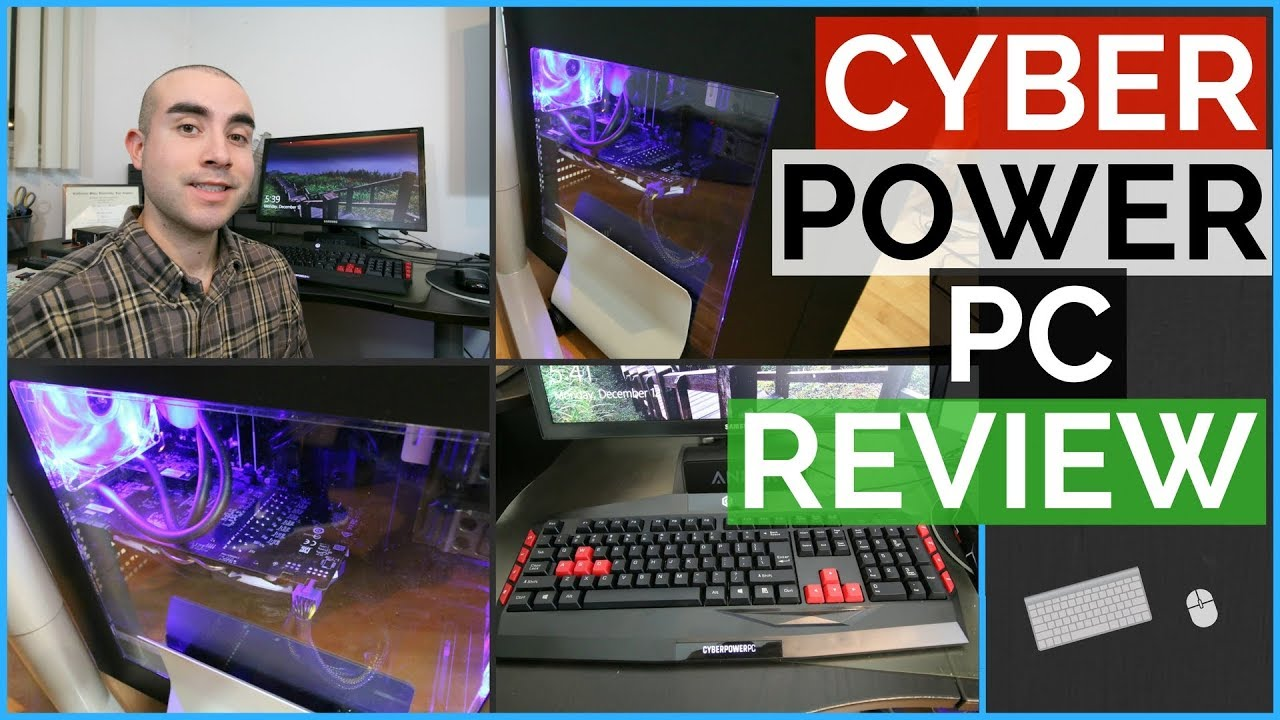 CyberPowerPC Review: Liquid Cooled Desktop & CyberPower PC Unboxing