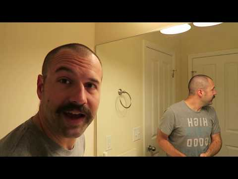Watch Me Shave My 2 Month Beard To A Mustache, Then Stubble....