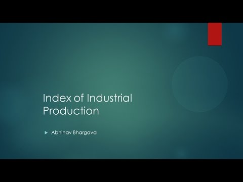 IIP (Index of Industrial Production) Understand in less than 150 Secs