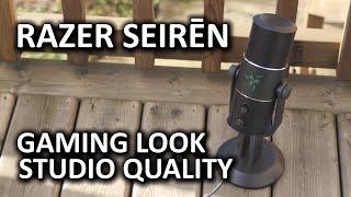 Razer Seirēn Desktop Microphone - Beautiful Design & Great Performance.. at a Price