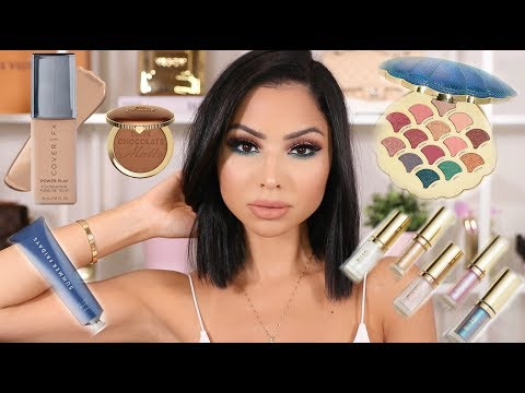 Full Face of First Impressions 2018 - NEW MAKEUP 😍
