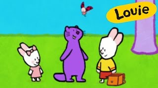 Marmot - Louie draw me a marmot | Learn to draw, cartoon for children