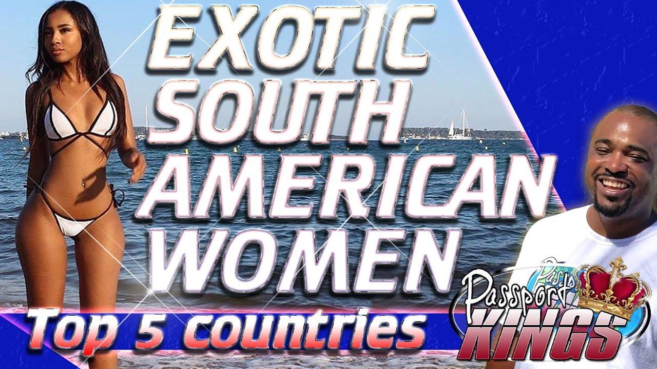Exotic Black Women in South America | Top 5 Countries of melanin