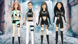 Play Doh BLACKPINK  'Kill This Love' Inspired Costumes Barbie Dolls
