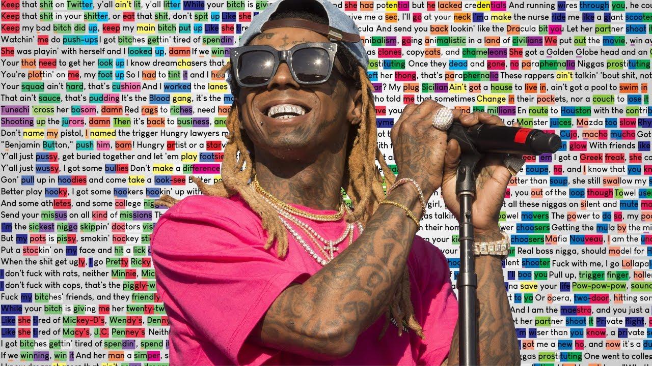 Lil Wayne - Big Bad Wolf   Rhymes Highlighted   25K SUB SPECIAL!