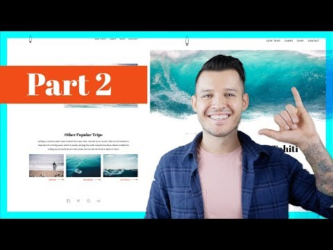 Designing a Surfing Website | Part 2