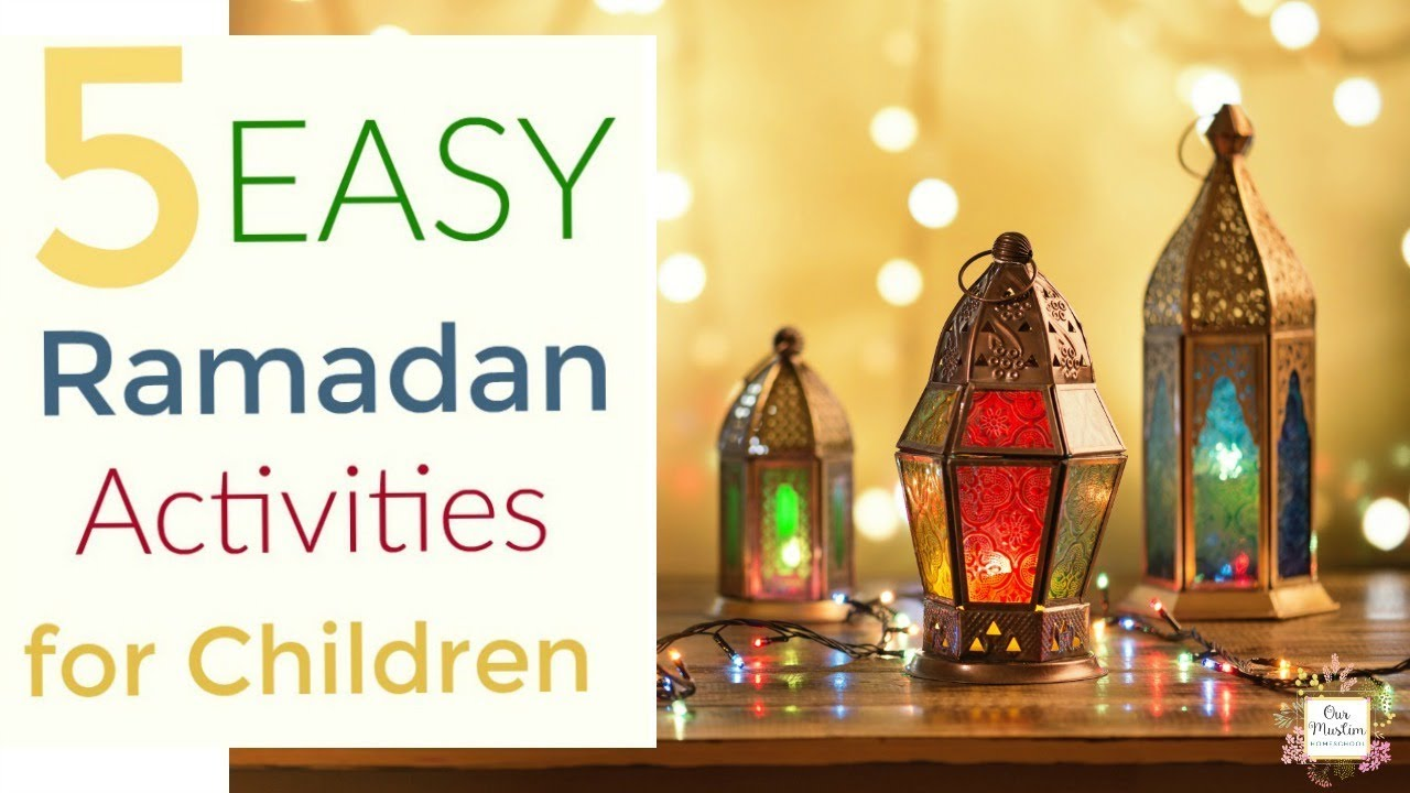 Easy Ramadan Childrens Activities Youtube