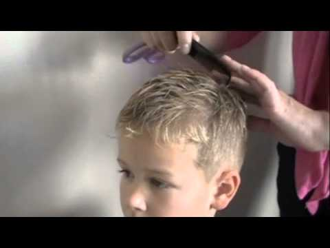 How To Cut Boys Hair With Clippers And Scissors Youtube