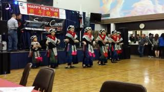 Fairfield Iu Mien New Year Party 2014 (Phoenix Dancers)