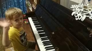 """#2 Первые уроки музыки с ребёнком 4 года. Урок №2. Сказка про нотки """"Музыкальный огородик"""". Октавы."""