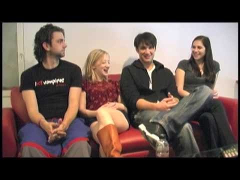 HTZ sits down with the cast of I Heart Vampires!