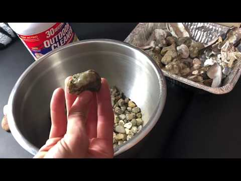 How To Clean Rocks Using 30 Second Cleaner