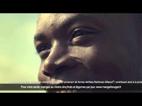 Vidéo Découvrez la nouvelle publicité Côte d'Or