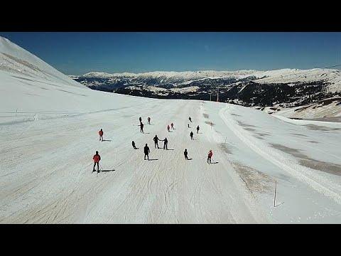 Esqui e praia em Adjara