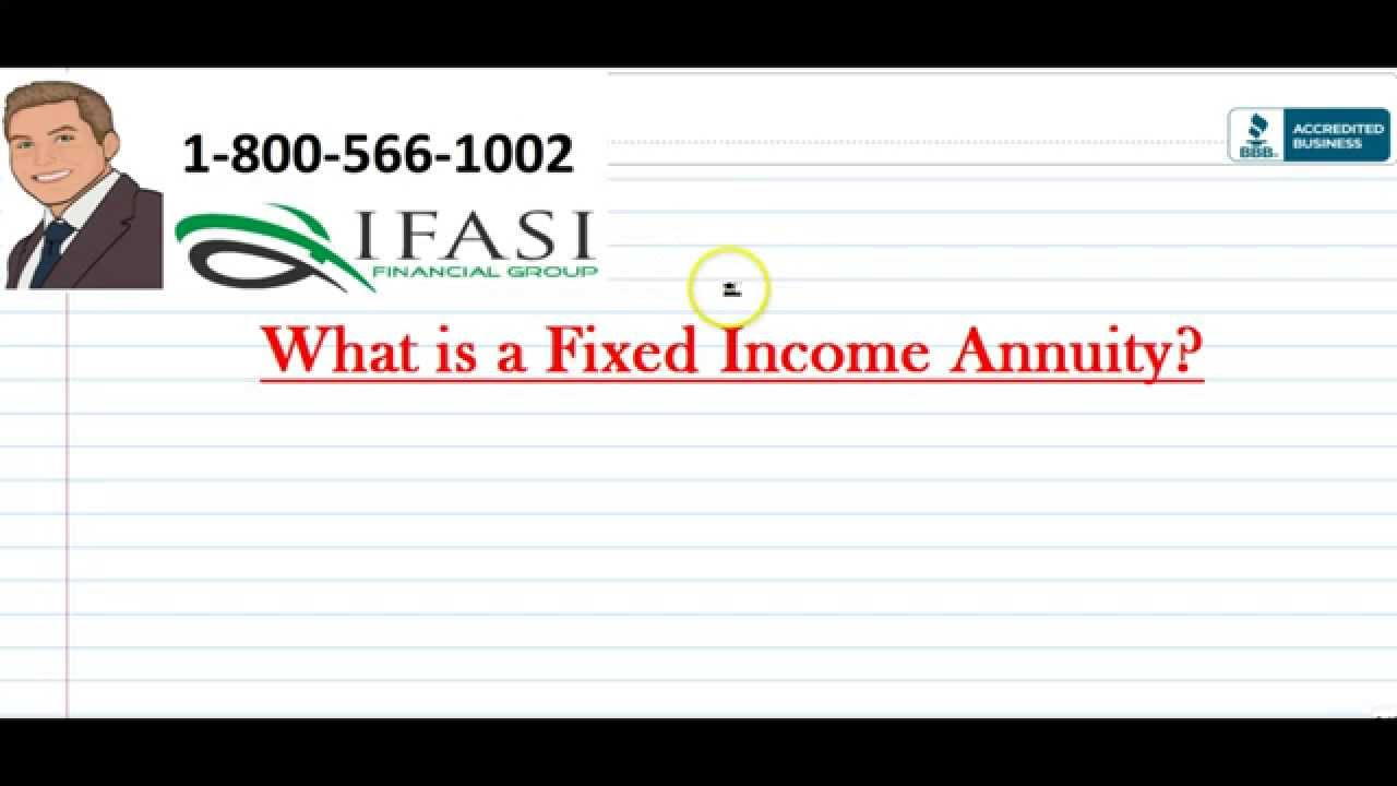 fixed income annuity   fixed income annuities review youtube