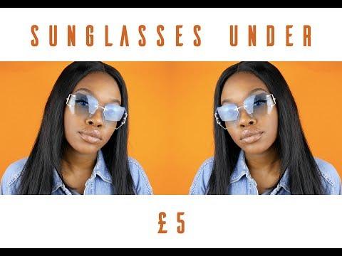 SUNGLASSES UNDER £5 | NAOMI