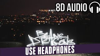 Blanc Dragons - Colors In Between [Ultra Music] ( 8D Audio )