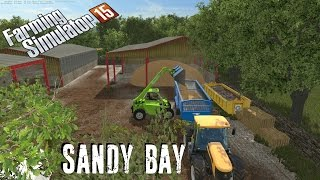 Farming Simulator 15 | Sandy bay | trying the gearbox mod out
