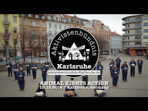 ANIMAL RIGHTS ACTION - Karlsruhe, Germany