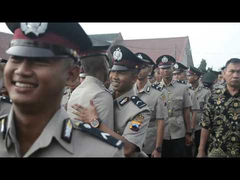 Pelantikan Bintara Muda - Bripda Akhmad Aminudin