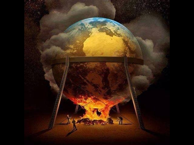 Flat Earth Truth: Globe on Fire! The Globe is Instantly debunked 100%!!
