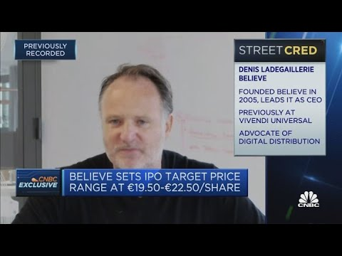 Believe IPO objective 'to fund acquisitions' until 2023, says CEO