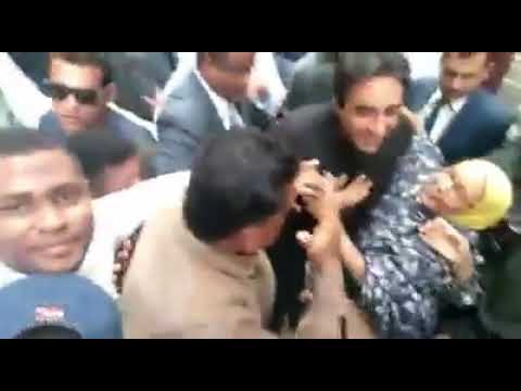 #KARACHI.JANUARY.3 Chairman Pakistan Peoples Party (PPP) Chairman Bilawal Bhutto Zardari With Bibi A