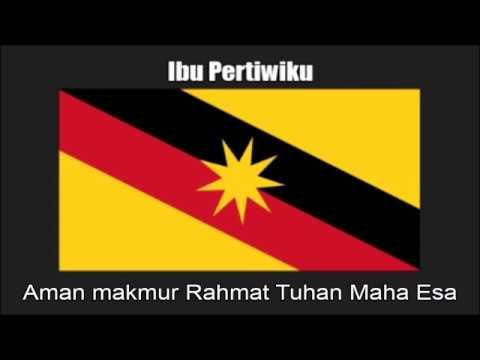 Malaysian State Anthem of Sarawak (Ibu Pertiwiku) - Nightcore Style With Lyrics