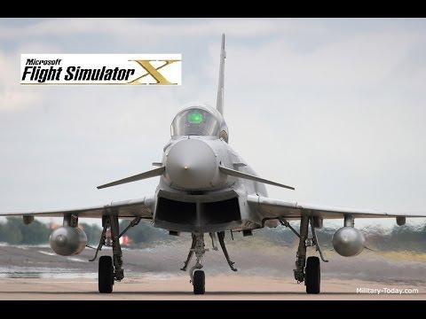 Eurofighter Typhoon FSX (Justflight)