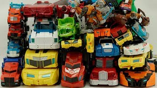 Robots in Disguise: Transformers Car Color Collection Optimus Prime, Bumblebee Starscream Truck Toys