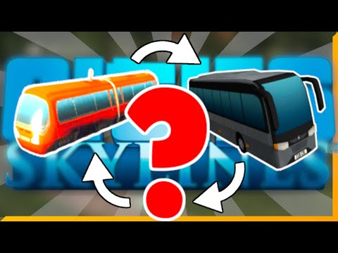Easiest Public Transport Combo for Beginners in Cities: Skylines | Basic Tips No DLCs Needed |