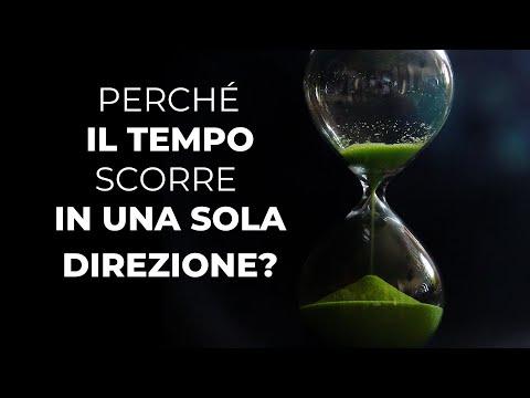 Perché il tempo scorre in una sola direzione? La freccia del tempo e l'entropia