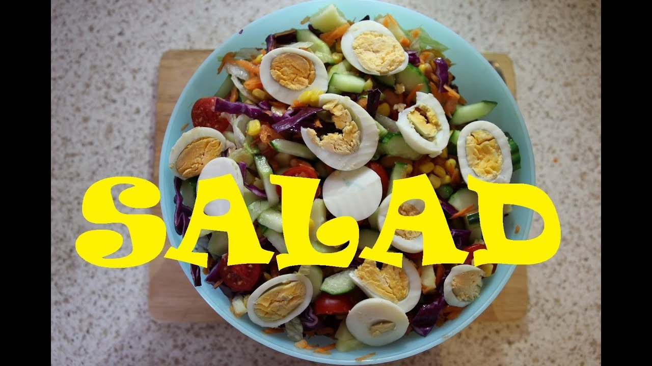 How to make nigerian salad nigerian food recipes youtube how to make nigerian salad nigerian food recipes forumfinder Choice Image
