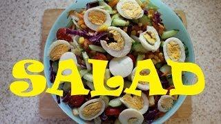 HOW TO MAKE NIGERIAN SALAD 😋| Nigerian Food Recipes