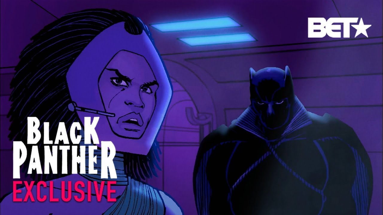 Black Panther, Ep. 4 – Here's Black Panther x Classic Black Film Mashup