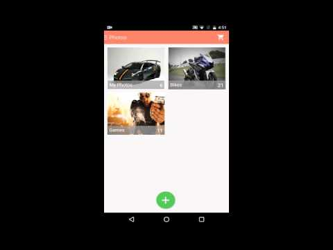 how to set gallery lock in android