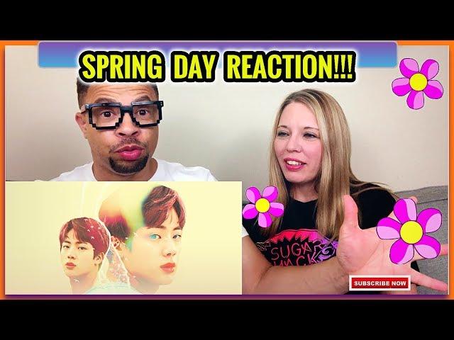 We LOVE BTS More For This // BTS Spring Day MV & Spring Day MV Explained REACTION!
