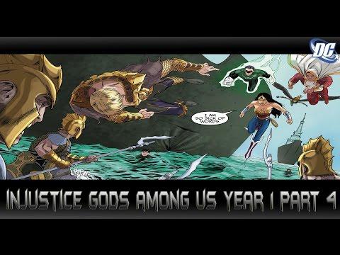บุรุษเหล็กปะทะเจ้าสมุทร[Injustice Gods Among Us Year1 Part4]comic world daily