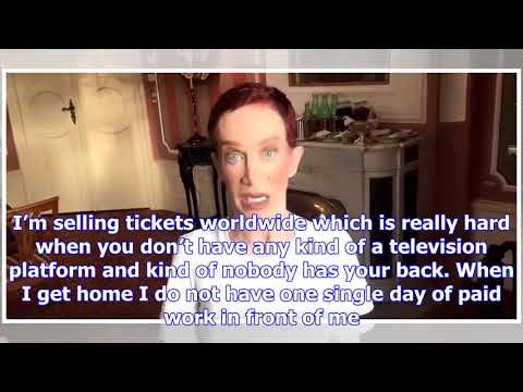 It didn't take long for kathy griffin's pity party to turn into an unhinged anti-fox news rant [vid