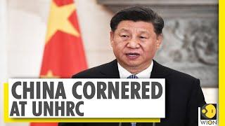 China faces criticism at UNHRC over Hong Kong, Tibet \u0026 Xinjiang | World News | WION News