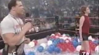 Best promos of 2000 → Kurt Angle the new WWF Champion! [1/2]