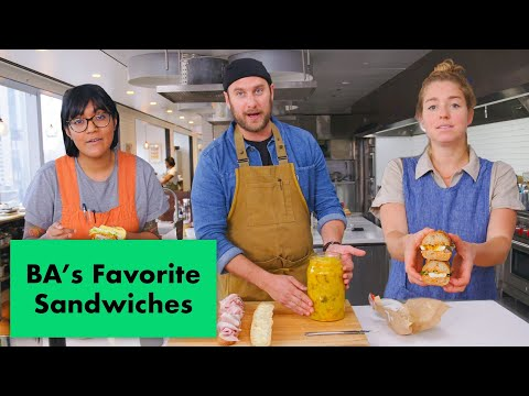Pro Chefs Make Their Favorite Sandwiches | Test Kitchen Talks | Bon Apptit