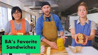 Download Pro Chefs Make Their Favorite Sandwiches   Test Kitchen Talks   Bon Appétit Mp3 and Videos