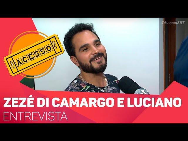 Entrevista com Zezé di Camargo e Luciano - TV SOROCABA/SBT