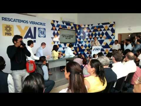 Yunes Linares presentó denuncia penal contra Javier Duarte