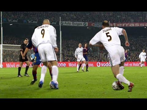 Download Zidane, Ronaldo, Beckham & R. Carlos Masterclass vs Barca 2003