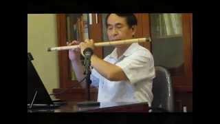 MẸ YÊU CON (sáo trúc tone sol trầm) - Nguyễn Vinh Quang