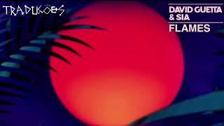 Flames - David Guetta Ft. Sia (Tradução) Video