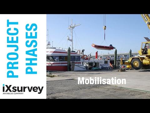 Project Phase: Mobilisation // IXBLUE // Marine Survey Specialists
